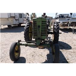 1952 John Deere MT Tractor- 20HP- Gas- Good Rubber- Maintenance Records- Manual- Extra Parts
