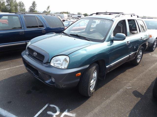 Image 1 : 2002 Hyundai Santa Fe ...