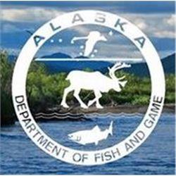 Alaska: Nunivak Island Bull Muskox Govenor's Tag (DX 001/DX003) for One Hunter