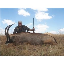 Roan and Sable hunt with Restless Africa Safari's