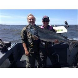 Salmon Fishing with Captain Norm Smith