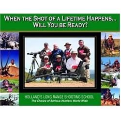 Holland's 4-Day, Long Range Shooting School