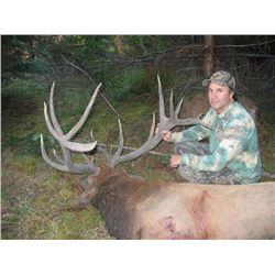 5 Day Blacktail Deer/Bear Combo hunt for one hunter and one guest in Oregon