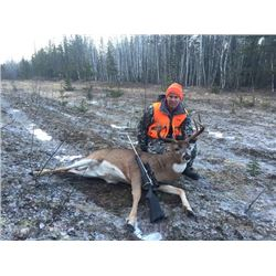 5 Day Saskatchewan Whitetail Deer Hunt