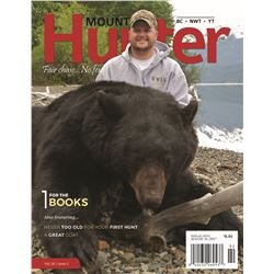 Inside Back Cover of Mountain Hunter Magazine