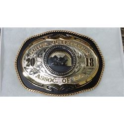 2018 Convention Belt Buckle