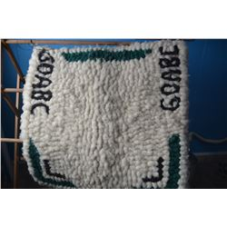 Vintage GOABC Wool Blanket