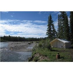 12'x14' wall tent with porch by Deluxe Wall Tents