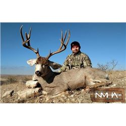 New Mexico Rifle Mule Deer Hunt