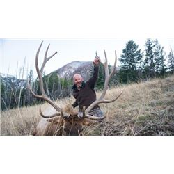 Montana Elk and Deer Combo Hunt for One Hunter