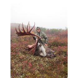 2019 Alaskan Caribou and Grizzly Float Hunt