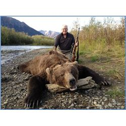 Ten day Alaskan Coastal Brown Bear Hunt in the Togiak National Wildlife Refuge