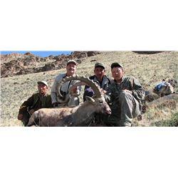 Five Day Altai Ibex Hunt in Mongolia