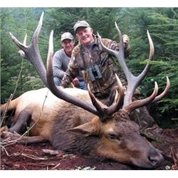 Raspberry and Afognak Island Roosevelt Elk Special Permit for Hunts (DE702-723)