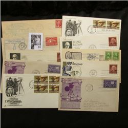 (10) Special Cacheted or First Day Covers dating from 1932-54.