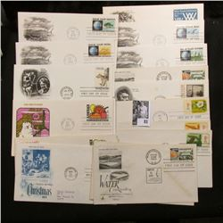 (20) Special Cacheted or First Day Covers dating back to 1960.