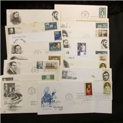 (20) Special Cacheted or First Day Covers dating back to 1961.