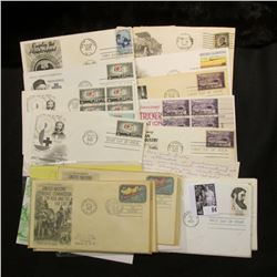 (20) Special Cacheted or First Day Covers dating back to 1928.