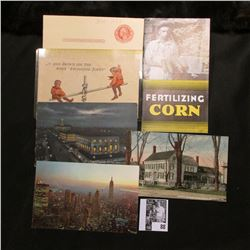 """Fertilizing Corn"", pamphlet by ""The American Agricultural Chemical Co., St. Louis, Mo."" (1930 era);"