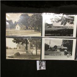 """Washington, Iowa Washington County Hospital First County Hospital in the U.S.A."" postcard; & (10) W"