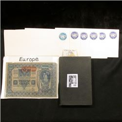 """(6) Unused Prestamped United Nations Envelopes; 1932 book """"The Law of Arrest"""", by Clarence Alexander"""