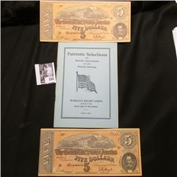 """""""Patriotic Selections for Patriotic Anniversaries and other Patriotic Meetings Woman's Relief Corps"""