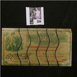 United States Internal Revenue Bottled 2 4/10 Gallons Distilled Spirits Case Stamp.
