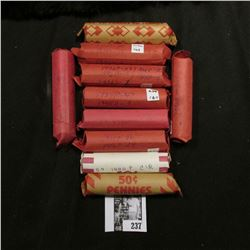 (10) Rolls of U.S. Wheat Cents, I haven't searched these rolls except for a compulsory look, so sold