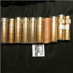 "(10) Original Rolls of Gem BU U.S. ""Wheat"" Cents."