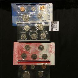 1999 P & D  U.S. Mint Sets. Original as issued.