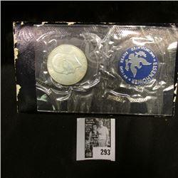 1971 S U.S. Eisenhower Silver Dollar, original as issued.