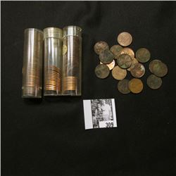 (27) 1944 P, (47) 46 D, & (15) 58 P Lincoln Cents, all either BU or Uncirculated; & a few circulated