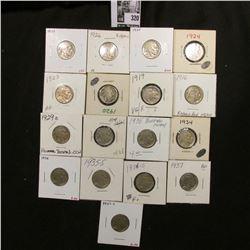 1916 P Rotated Reverse (date restoration), 19P, 20P, 23P, 24P, 25P, 26P, 27P, 29D Rotated Reverse, 3
