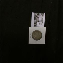 1904 H Newfoundland Silver Half Dollar, VG. 140,000 mtg.