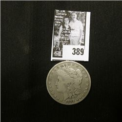 1892 S U.S. Morgan Silver Dollar, VG-F.