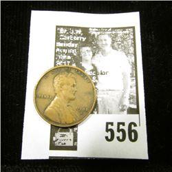 1911 S Lincoln Cent, Very Fine.