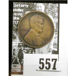 1911 S Lincoln Cent, Fine.