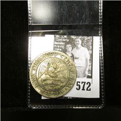 1846-1946 Iowa Centennial Half Dollar, Heavily toned Uncirculated.
