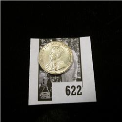 1922 Canada Nickel, Uncirculated.