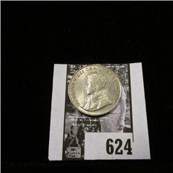 1927 Canada Nickel, Uncirculated.