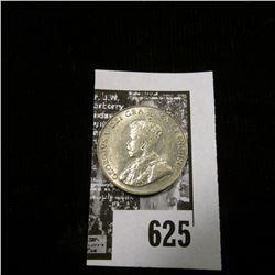 1923 Canada Nickel, Uncirculated.