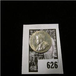 1928 Canada Nickel, Almost Uncirculated.