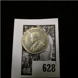1929 Canada Nickel, Brilliant Uncirculated.