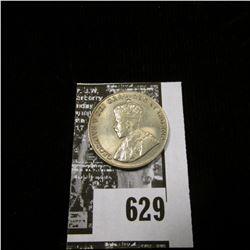 1930 Canada Nickel, Brilliant Uncirculated.