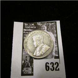 1934 Canada Nickel, Brilliant Uncirculated.