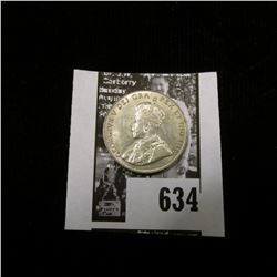 1936 Canada Nickel, Brilliant Uncirculated.