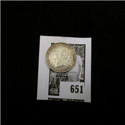 1885 Newfoundland Twenty Cent Piece, EF.