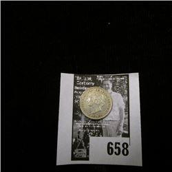 1898 Canada Five Cent Silver, VF.