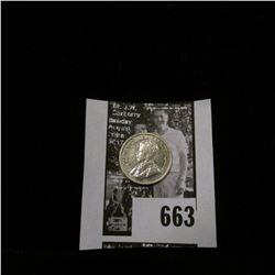 1913 Canada Five Silver, Choice AU.