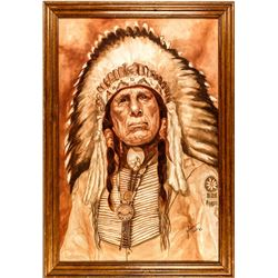 Iron Eyes  by D. Golden